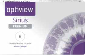 Optiview Sirius Premium Toric 6 pack