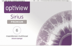 Optiview Sirius Premium Multifocal 6 pack
