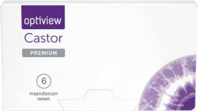Optiview Castor Premium Toric 6 pack